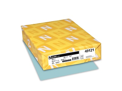 "Exact 8.5"" x 11"" Index Paper, 90 lbs., 92 Brightness, 250/Ream (49121)"