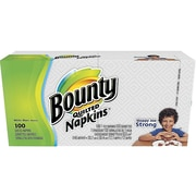 Bounty Luncheon Napkins, 1-Ply, White, 1/BX (34884)