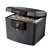 SentrySafe Plastic Fire/Waterproof Safe with Key, 0.65 cu. ft. (HD4100)
