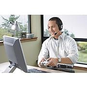 Microsoft LifeChat LX-3000 Computer Headset, Over-the-Head, Black (JUG-00013)