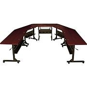 "Balt Flipper Training Room Table, 24""D x 36""W, Mahogany (89876)"