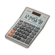 Casio MS-80B 8-Digit Desktop Calculator, Gray