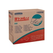 WypAll X50 Cloth Wipers, White, 176 wipers/Box, 10 Boxes/Carton (83550)