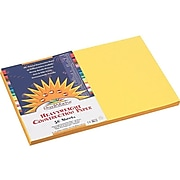 """SunWorks 12""""W x 18""""L Construction Paper, Yellow, 50/Pack (8407)"""