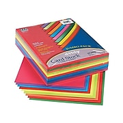 """Pacon Array Jumbo Pack Cardstock Paper, 65 lbs, 8.5"""" x 11"""", Assorted Colors, 250/Pack (101199)"""
