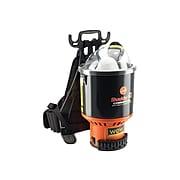Hoover Commercial Shoulder Vac Pro Backpack Vacuum, Black/Orange (C2401)