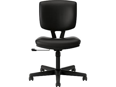 HON Volt Leather Task Chair, Black (H5701.SB11.T) NEXT2019