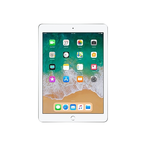 "Apple iPad Wi-Fi MR7G2LL/A 9.7"" iOS Tablet, A10 Fusion"