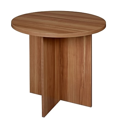 Niche Mod 30 Round Table Warm Cherry NRT3029WC Staples
