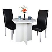 "Niche Mod 30"" Round Table- White Wood Grain"