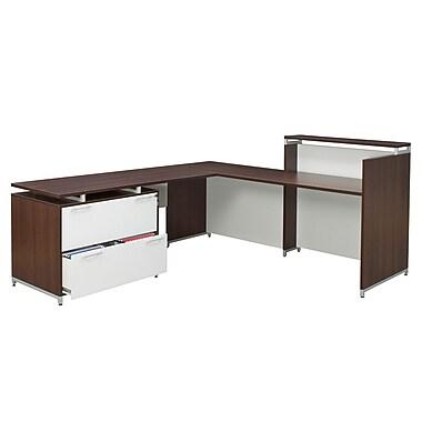 Regency OneDesk Reception Desk Shell with 62
