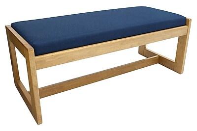 Regency Belcino Double Seat Bench- Medium Oak/ Blue (BBNCH2148MOBE) 2494264