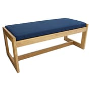 Regency Belcino Double Seat Bench- Medium Oak/ Blue (BBNCH2148MOBE)