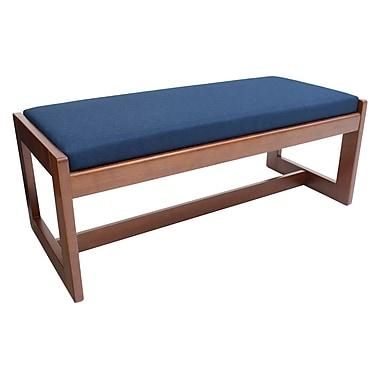 Regency Belcino Double Seat Bench, Cherry/Blue (BBNCH2148CHBE)