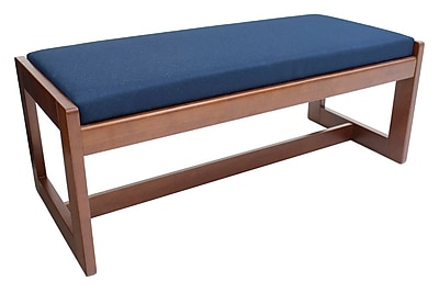 Regency Belcino Double Seat Bench- Cherry/ Blue (BBNCH2148CHBE)