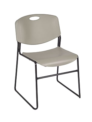 Regency Zeng Stack Chair (50 pack)- Grey (4400GY50PK)