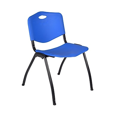 Regency 'M' Stack Chair, Blue (4700BE)
