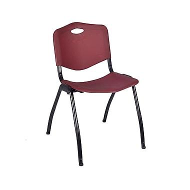 Regency 'M' Stack Chair, Burgundy (4700BY)