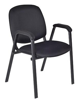 Regency Ace Stack Chair (18 pack)- Midnight Black (2125BK18PK)