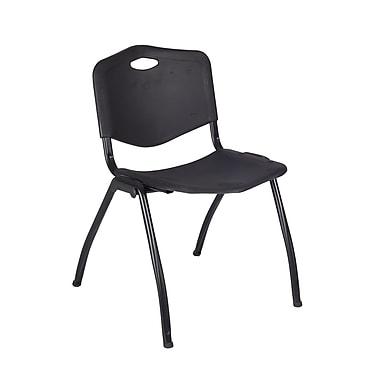 Regency 'M' Stack Chair, Black (4700BK)