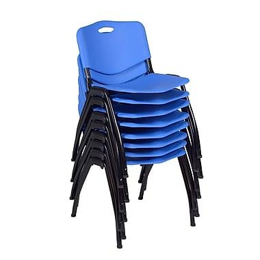 Regency 'M' Stack Chair 8/Pack, Blue (4700BE8PK)
