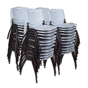 Regency 'M' Stack Chair (40 pack)- Grey (4700GY40PK)