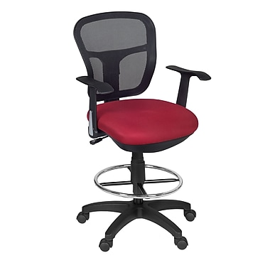 NicheHarrison Swivel Stool, Red (5125STRD)