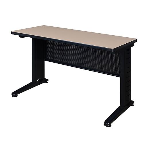 "Regency Fusion 42"" x 24"" Training Table- Beige (MFTT4224BE)"
