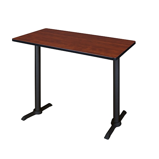 """Regency Cain Cafe Training Table, 24""""D x 48""""W, Cherry (MCTRCT4824CH)"""