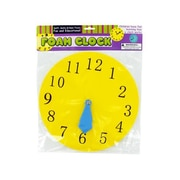 Foam clock - Case of 48( KOLIM36403)