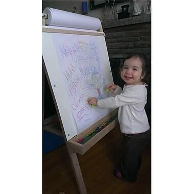 Beka Ultimate Easel, chalkboard, markerboard, wood trays - 42 in. tall( BEKA343)