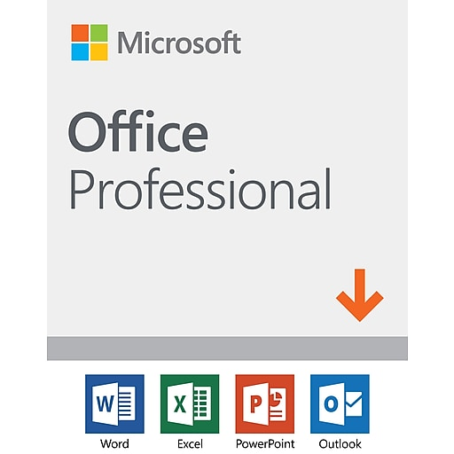 Microsoft Office Professional 2019 1 device, Windows 10, Download