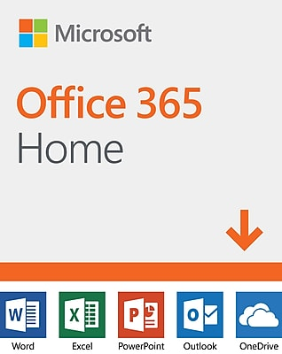 Microsoft Office 365 Home 12-Month Subscription for Windows/Mac/Android/iOS, 6 Users, Download (3SA7RGARJ6L63CC)