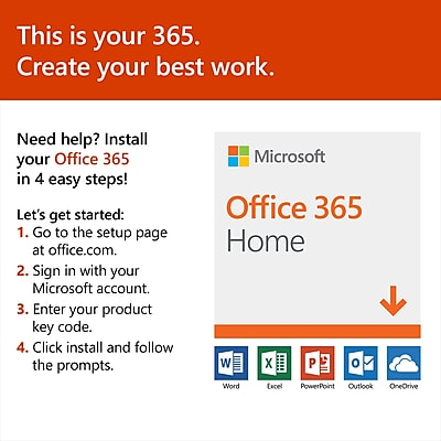 Microsoft office 365 home Windows 10 Httpswwwstaples3pcoms7is Staples Office 365 Home 1year Subscription download Staples