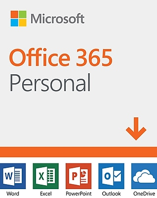 Microsoft Office 365 Personal 12-Month Subscription for Windows/Mac/Android/iOS, 1 User, Download (DLM3PZG3QWK3PLB)