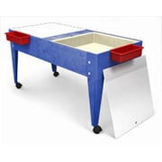 Manta Ray Double Mite Activity Center with 2 Mega Trays And Casters( MNTR026)