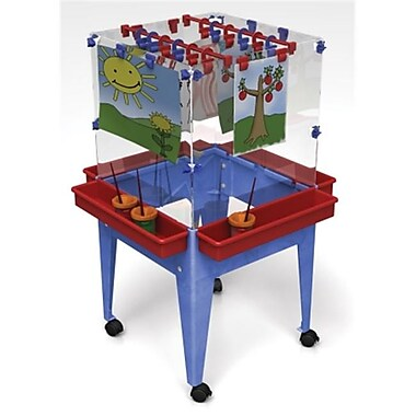 Manta Ray Youth 4 Station Space Saver Easel( MNTR012)