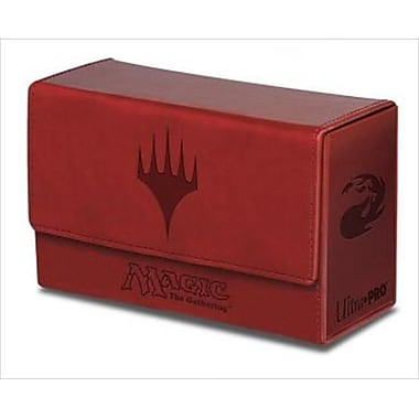Ultra Pro 86191 Deck Box Dual Mana Flip, Red( ACDD11933)