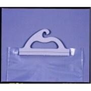 Monaco 12 x 9 in. Portable Deluxe Hangup Bag - Clear, Pack 10( SSPC76415)