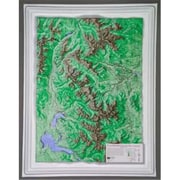 Hubbard Scientific Raised Relief Map Rocky Mountain National Park S Series( AMED1957)