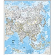 National Geographic Map Of Asia( NGS485)