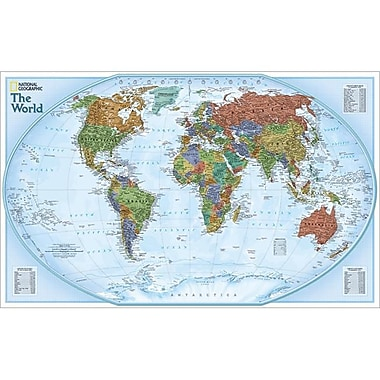National Geographic World Explorer Map( NGS113)