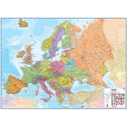Maps International Europe 1 to 4.3 Laminated Wall Map( WPGR047)