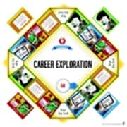 Pci Educational Publishing Pro-Ed Pci Life Skills For Todays World Game - Career Exploration, 3 Plus Years( SSPC58789)