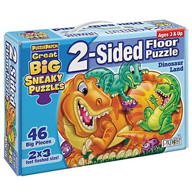 Patch Products Sneaky Floor Puzzle - Dinosaur Land( PTCH819)