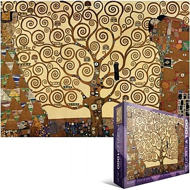 Eurographics Jigsaw Puzzle 1000 Pieces 19.25 in. X26.5 in. -Klimt - Tree Of Life( NTNMR1100)