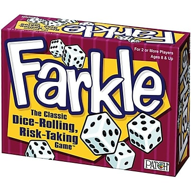 Patch Products 488838 Farkle Game Box-Farkle( NMG42762)