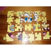 Fine Crafts Spong Bob Squarepants wooden jigsaw puzzle( FNCRF110)