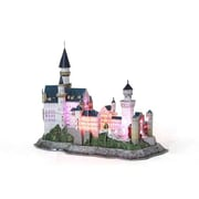 3D Puzzles Neuschwanstein Castle Led 3D Puzzle 128 Pieces( DARON9407)