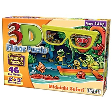 Patch Products 3D Floor Puzzle - Midnight Safari( PTCH837)